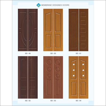PVC Wooden Membrane Door