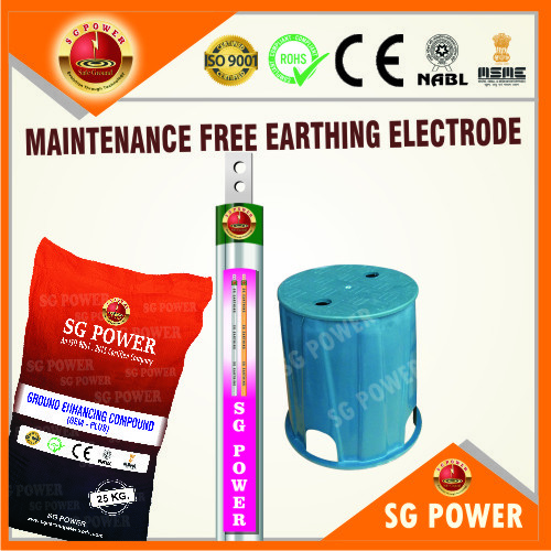 Maintenance Free Earthing Electrode