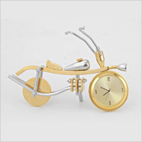 Bike Shape Desktop Clock