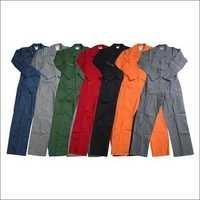 Button Front Cotton Coverall