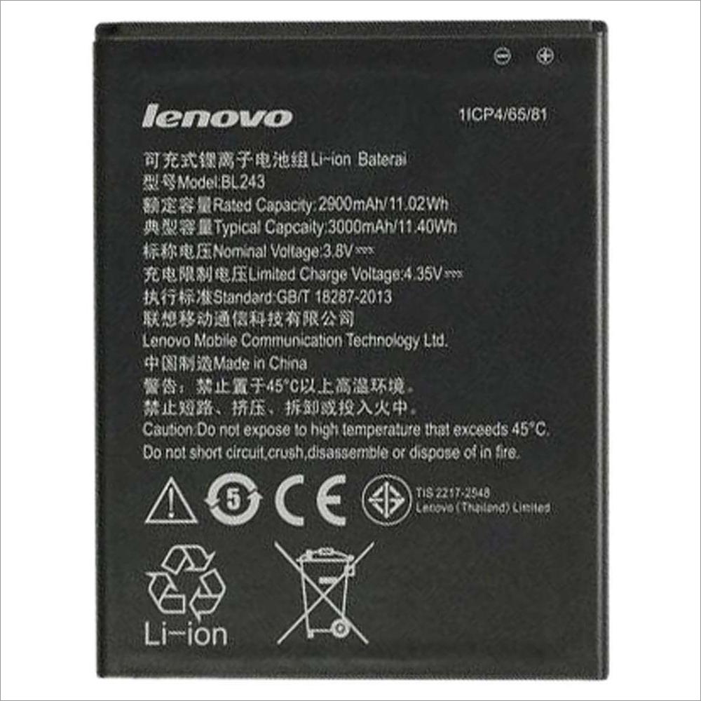 Battery for Lenovo K3 note and A7000 Lenovo