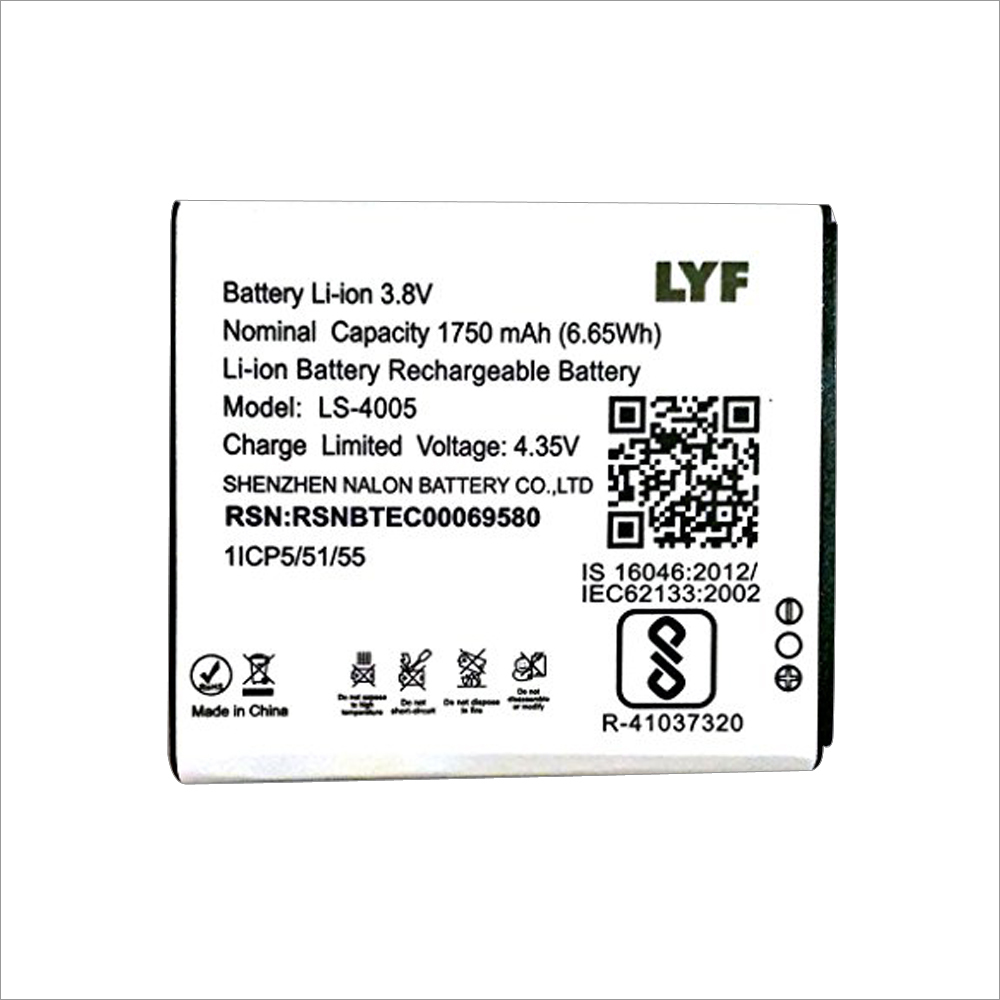 Battery for Reliance LYF Flame 6 Mobil