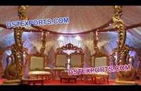 Beautiful Marriage Mandap Chairs Set