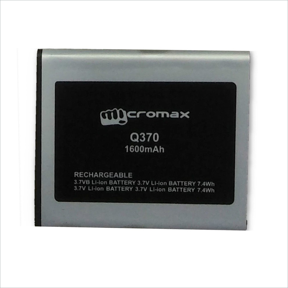 Battery For Micromax Bolt Q370 Mobiles