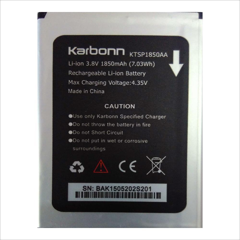 S 201  & KTSP 1850AA Battery For Karbann Mobile