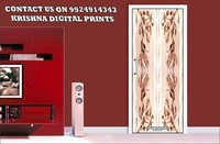 Laminated Door Paper Print