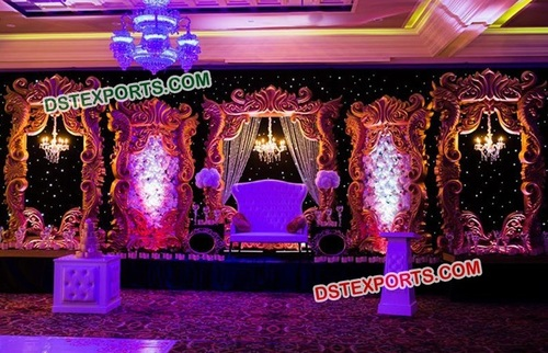 Traditional Marriage Stage Backdrop Frames
