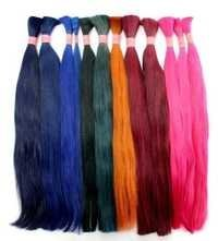 Synthetic Bulk Hair