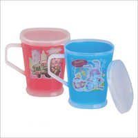 Royal Rich Cup A Set Of  6 Mug With Lid