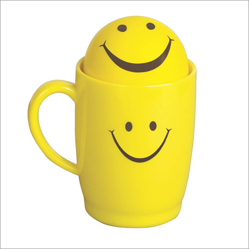 Smile Big Mug With Ball