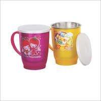 222 Stee Mug With LID