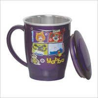Travel Medium Steel Mug With LID