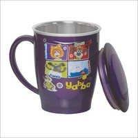 Travel Medium Steel Mug With LID