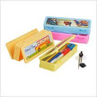 Polo Medium Plastic Pencil Box