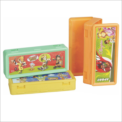Polo Big Plastic Pencil Box