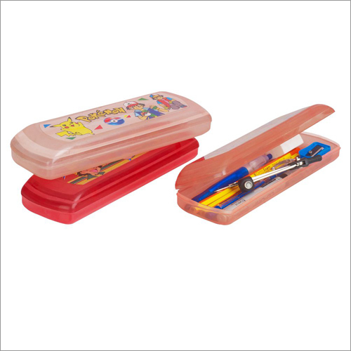 Optical Plastic Pencil Box