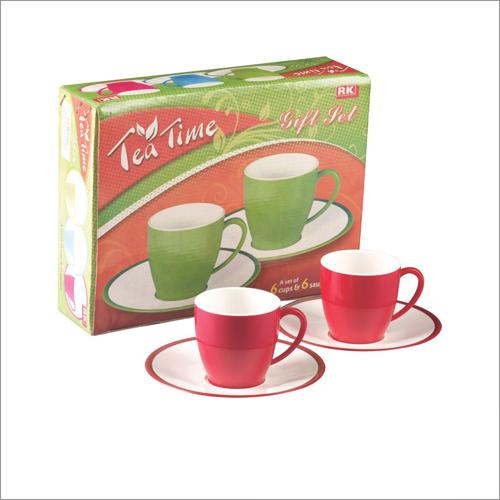 Tea Time Cup & Saucer