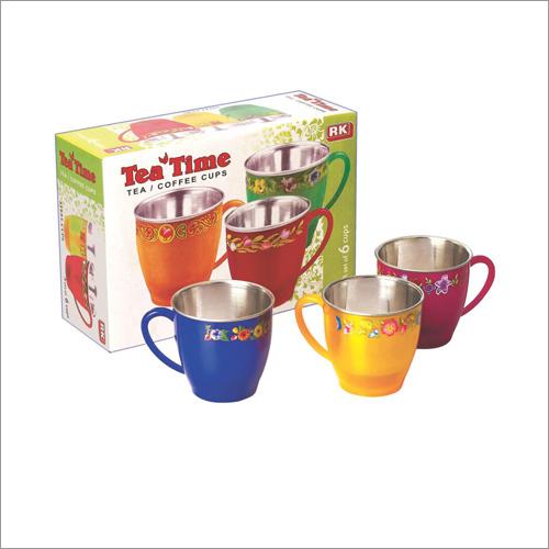 Tea Time Steel Mug
