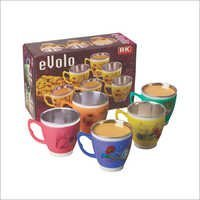 Evolo Medium Steel Mug