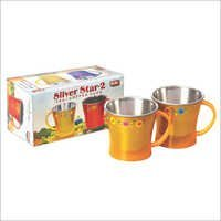 Silver Star Steel Mug