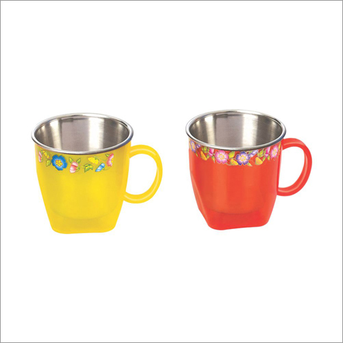 Gold Star Steel Mug