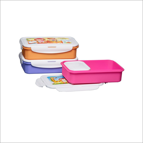 401 Colour Super Lock & Seal  Plastic Lunch Tiffin Box