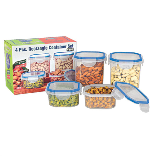 1103 Rectangle Container Set
