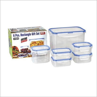 Blue And White 1104 Rectangle Gift Set