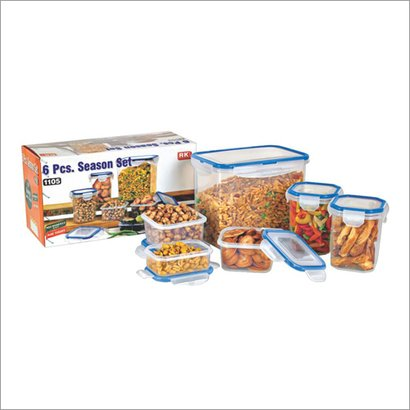 Blue And White 1105 Season Set  Food Storage Containers