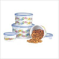 Happy Home Set Round Container