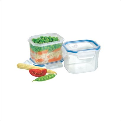 Silver And Blue 202  Food Storage Containers