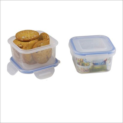 Silver And Blue 203  Food Storage Containers