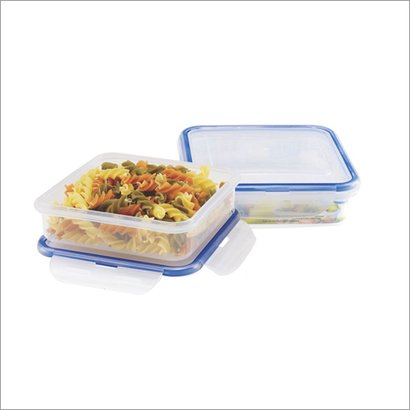 Silver And Blue 205  Food Storage Containers