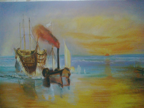 Fresco Canvas Painting