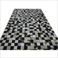 Designer Leather Rug