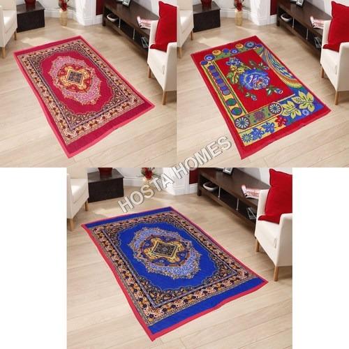Super Home Combo 3 Pieces Poly Cotton Carpets