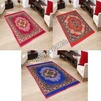 Floral Design Poly Cotton Carpet Combo