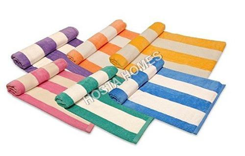 Multicolor Cotton Hand Towels