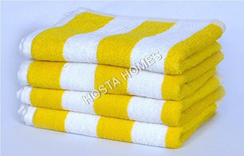 Cotton Bath Towels Multicolor Size (30 X 60)