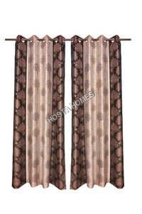 Tree Design Polyester Curtsins Set Of 2