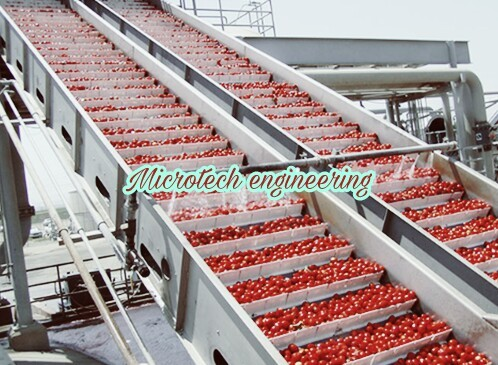 Tomato Ketchup Bucket Conveyor