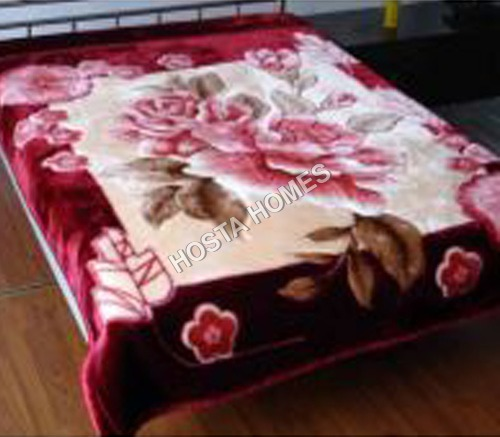 New Design Floral Mink Blanket
