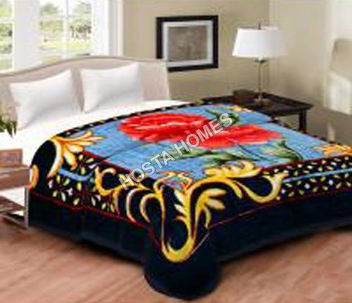 Latest Design Printed Mink Blanket