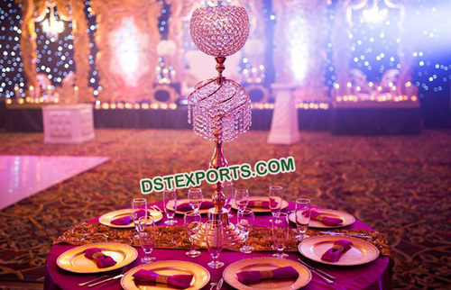 Beautiful Table Crystal Centerpieces