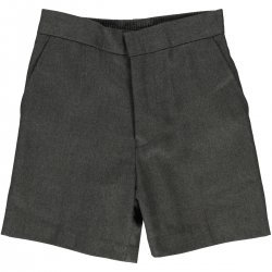 Grey School Boys Shorts