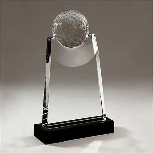Golf Crystal Trophy