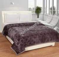 Polyester Plain Mink Blanket