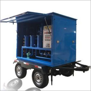 Portable Oil Treatment Plant