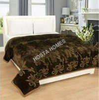 Designer Polyester Plain Blanket