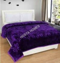 Awesome Color Polyester Plain Blanket